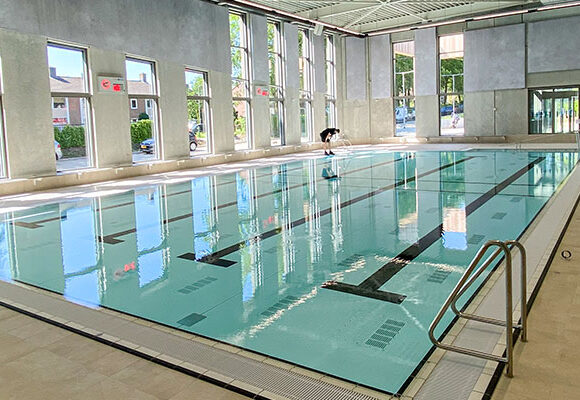 Das Schwimmbad Valkenhuizen in Arnhem-Nord ist einsatzbereit