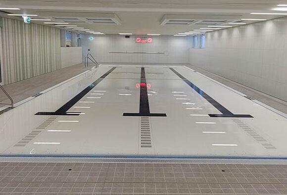 Beweglicher, doppelter Schwimmbadboden für ein Therapiebad